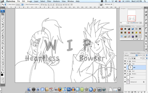 Akatsuki Vs. Org. XIII WIP 1 by Heartless-Bowser