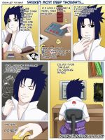 Sasuke's most deep thoughts by Nayness