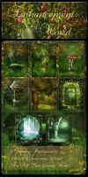 Enhancement World backgrounds by moonchild-ljilja
