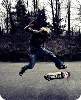Skate is fly by Elein