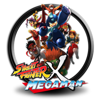 Street Fighter X Megaman icon s7 by SidySeven