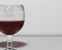 C4D - Wine Glass by QuadixStudio