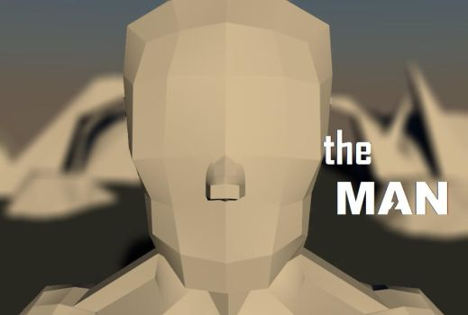 the MAN (3D) by alexguardian1