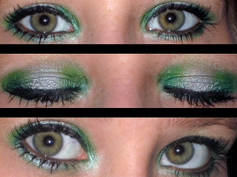 Slytherin Make up by Toxic-Sway