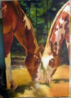 Oil Painting WIP - Day Seven by Marbletoast