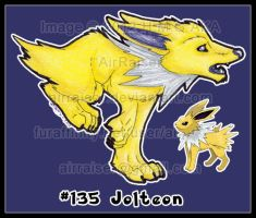 Pokemon: Jolteon 2012 by AirRaiser