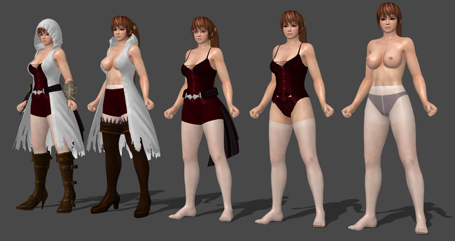 Kasumi Assassins Creed Completed by bstylez
