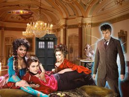 Doctor Who Meets Casanova by macfran