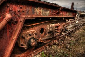 Rusty Carriage by Vitaloverdose