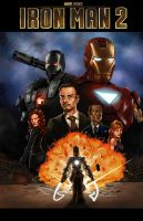 Iron Man 2 by holyghost13th