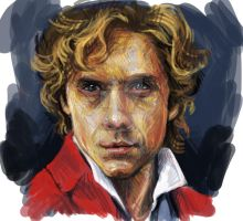 Enjolras by KeiSee
