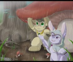 Showers in May by Lhumina