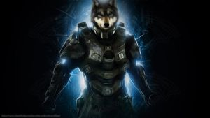 *Request* Master Wolf - Halo 4 Morph by KnucklesTheEchidna53