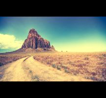 Road to Shiprock by Parabola-Pop