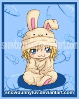 Yondaime Rabbit by snowbunnyluv