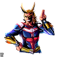 All Might by MarlonLeal