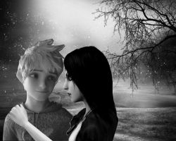 Jack Frost x Alice Liddell - Winter Wonderland by IceTea-ROTG-AMR-FC