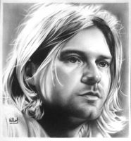 Kurt Cobain by WilliamGioachino