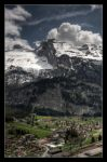 hdr Kandersteg view by troubleacm