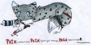 Pain by CatAndPenguinLover
