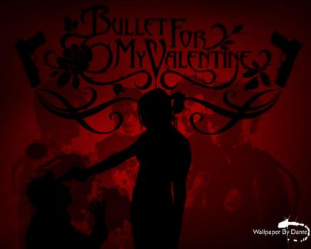 Bullet For My Valentine RedPic by Dante08