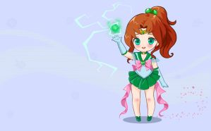 Sailor Jupiter wallpaper by Prywinko