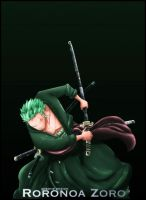 One Piece Roronoa Zoro 5 by Adonis90