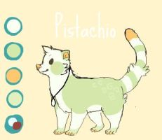 PISTACHIO UP FOR ADOPTION- 350 by PepperStepper