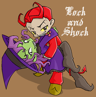 lock and shock by oh-odree