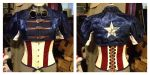 Steampunk Captain America WIP by BluRockAngelCostumes