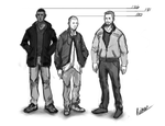 2012 Sketches RP Characters by nupson