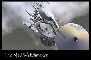 The Mad Watchmaker Print by dmaland