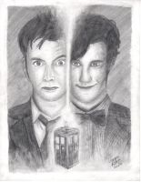 10th and 11th by Squint-in-the-Tardis