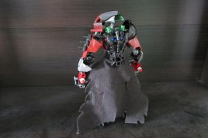 Asher: Corrupt Toa of Fire (Back) by ToaJalokim