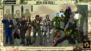 Metal Gear Solid 3: Snake Eater by cheddarpaladin