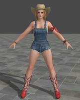 Dead Or Alive 5 Ultimate - Overalls - Tina by Irokichigai01