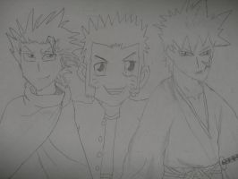 ANBU in a small group by SamuraiArtist