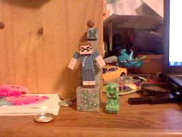 papercrafts ,P by superkirby1111