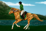 Goldrush - NIEC Endurance 1st place by Prettybold