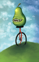 Here come dat Pear! by Batjan