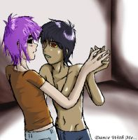 Dance With Me by Murdoc-X-2D