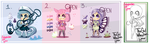 .: Cute Chibi Adopts :. [OPEN] by AdoptablesLiveHere