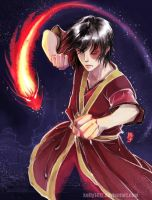 Zuko- ready to fight by kelly1412