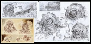 my sketches by sabin-boykinov