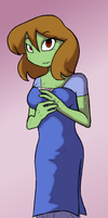 Frogs Can Be Pretty Too by warriorcatroseeyes