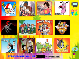 My Top 12 Cartoon Favourites by TXToonGuy1037