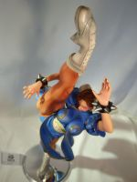 Chun-Li High kick 5 by Shoko-Cosplay