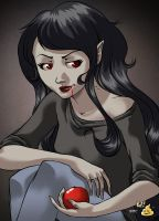 Marceline the vampire queen by Bobbykamikaze
