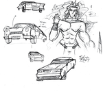 Cars practice by ReluctantZombie