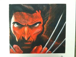 Red Wolverine by carrotmann
